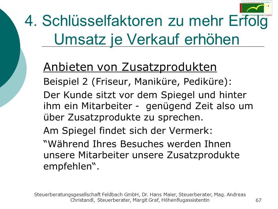 Steuerberatungsgesellschaft Feldbach GmbH, Dr. Hans Maier, Steuerberater, Mag. Andreas Christandl, Steuerberater, Margit Graf, Höhenflugassistentin 67