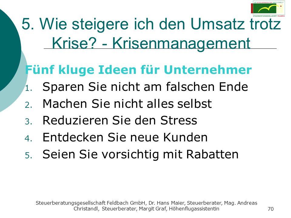 Steuerberatungsgesellschaft Feldbach GmbH, Dr. Hans Maier, Steuerberater, Mag. Andreas Christandl, Steuerberater, Margit Graf, Höhenflugassistentin 70
