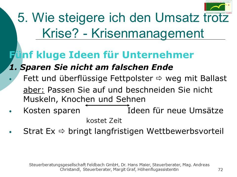 Steuerberatungsgesellschaft Feldbach GmbH, Dr. Hans Maier, Steuerberater, Mag. Andreas Christandl, Steuerberater, Margit Graf, Höhenflugassistentin 72