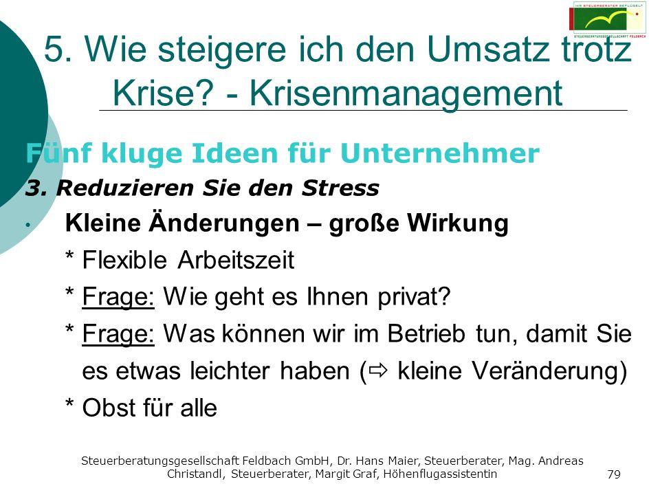 Steuerberatungsgesellschaft Feldbach GmbH, Dr. Hans Maier, Steuerberater, Mag. Andreas Christandl, Steuerberater, Margit Graf, Höhenflugassistentin 79