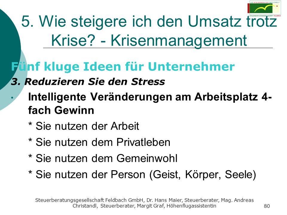 Steuerberatungsgesellschaft Feldbach GmbH, Dr. Hans Maier, Steuerberater, Mag. Andreas Christandl, Steuerberater, Margit Graf, Höhenflugassistentin 80