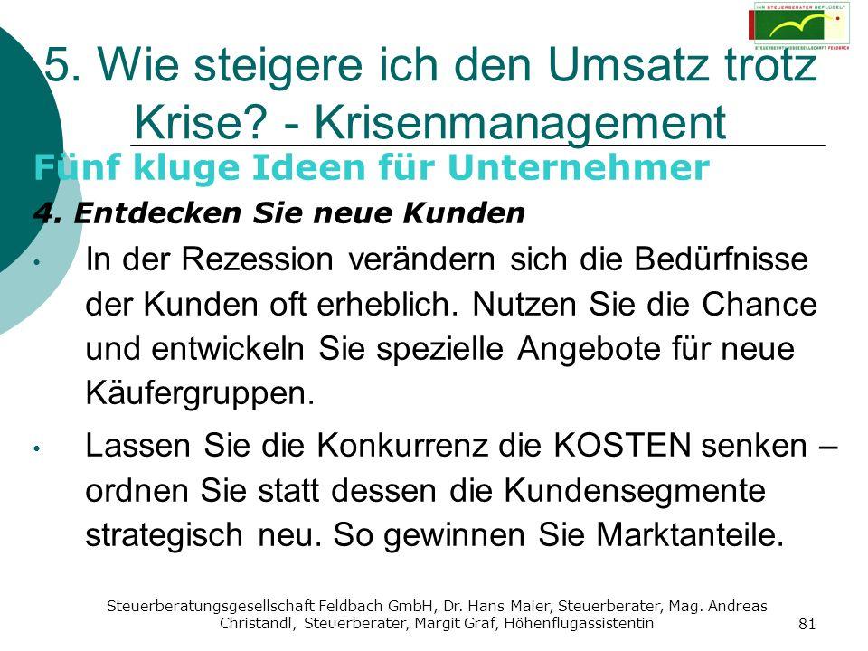 Steuerberatungsgesellschaft Feldbach GmbH, Dr. Hans Maier, Steuerberater, Mag. Andreas Christandl, Steuerberater, Margit Graf, Höhenflugassistentin 81