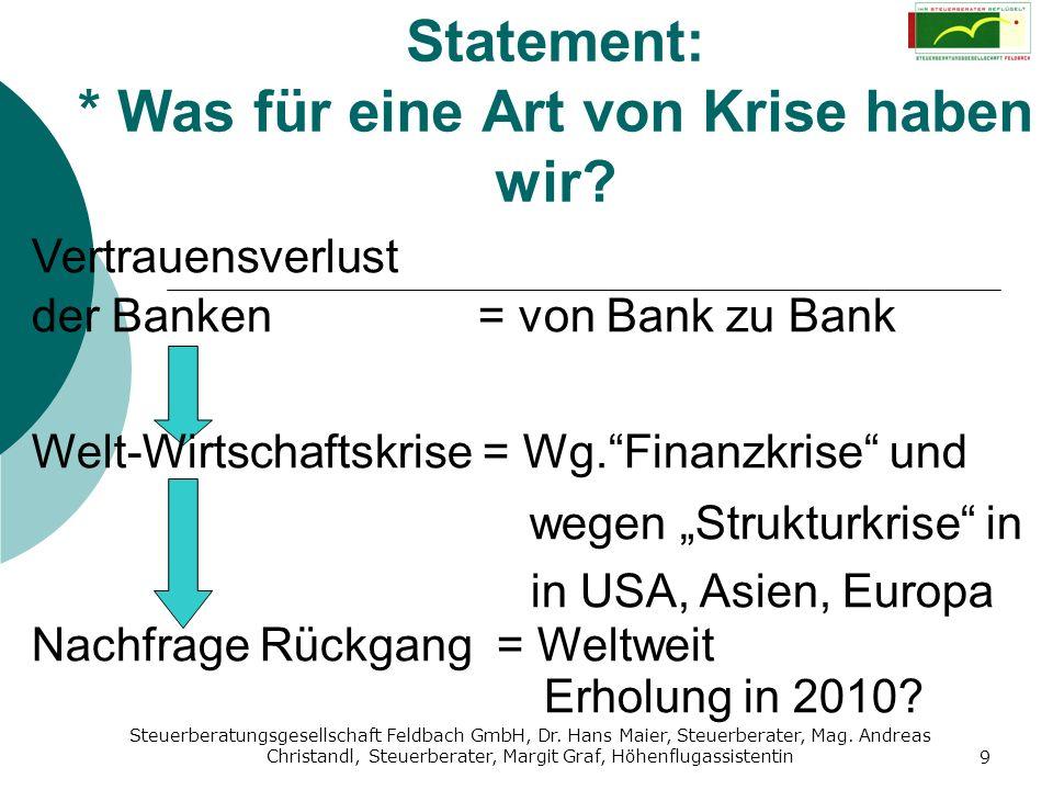 Steuerberatungsgesellschaft Feldbach GmbH, Dr. Hans Maier, Steuerberater, Mag. Andreas Christandl, Steuerberater, Margit Graf, Höhenflugassistentin 9