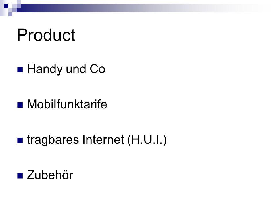 Product Handy und Co Mobilfunktarife tragbares Internet (H.U.I.) Zubehör