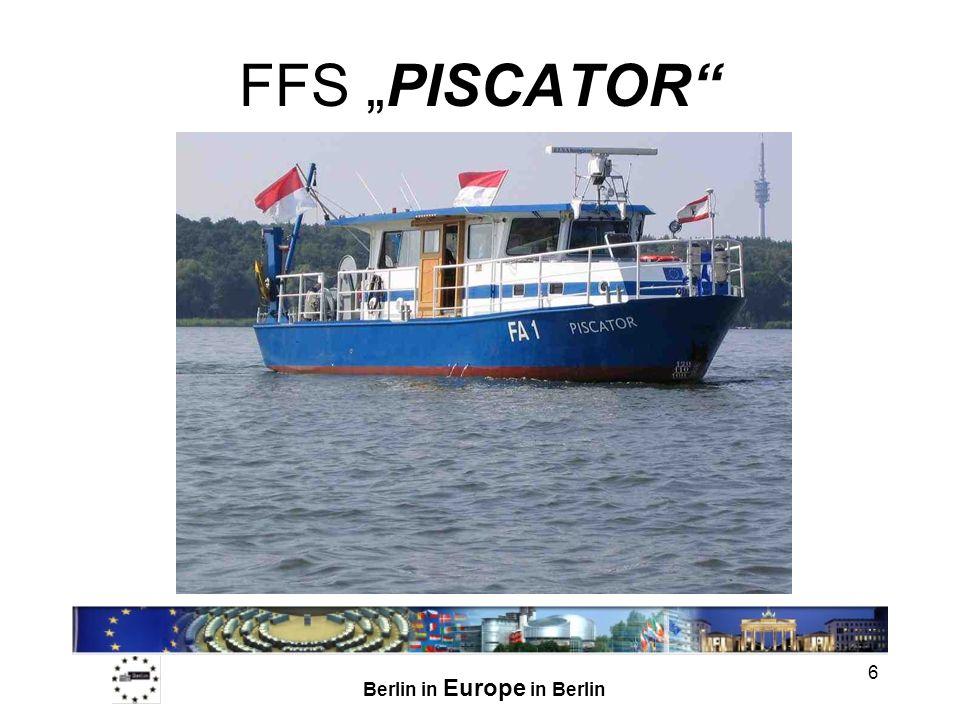 Berlin in Europe in Berlin 6 FFS PISCATOR