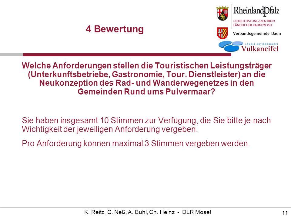 Verbandsgemeinde Daun 11 K. Reitz, C. Neß, A. Buhl, Ch.