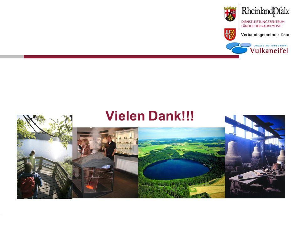 Verbandsgemeinde Daun Vielen Dank!!!