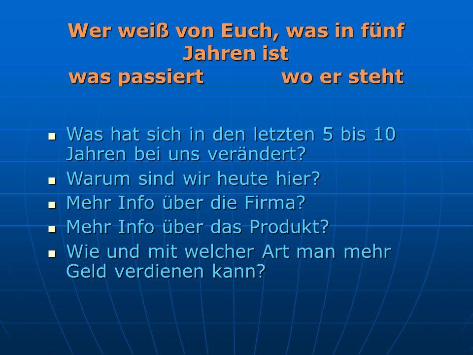Das Geschäft G ö lles Ewald, Copyright, 2007 Das Produkt