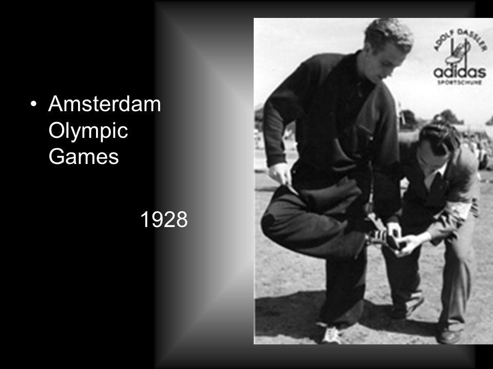 1949 -- Der Firmenname adidas wird eingetragen - eine Kombination aus dem Namen des Firmengründers: Adi für Adolf und Das für Dassler All day I dream about sport