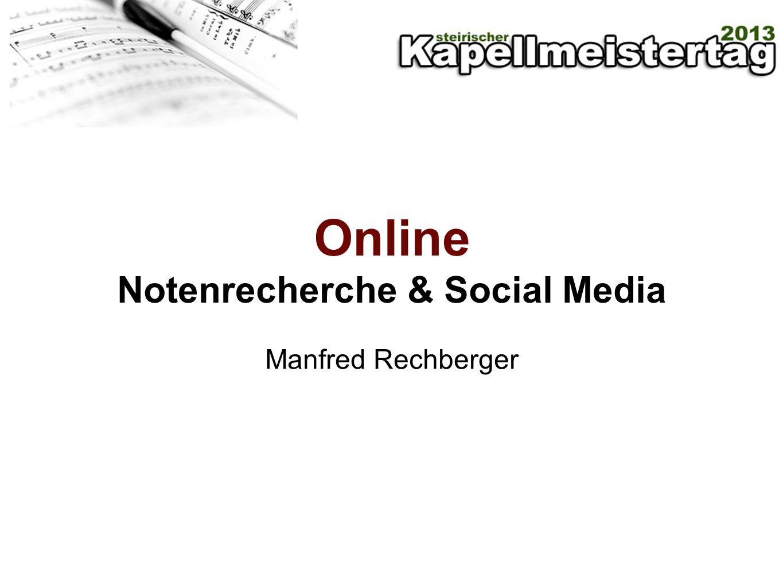 Notenrecherche im Netz Verlage Portale Web 2.0 - Apps Komponisten - Websites