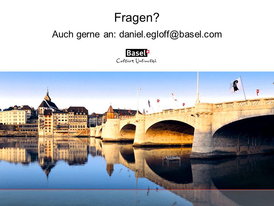 Fragen? Auch gerne an: daniel.egloff@basel.com