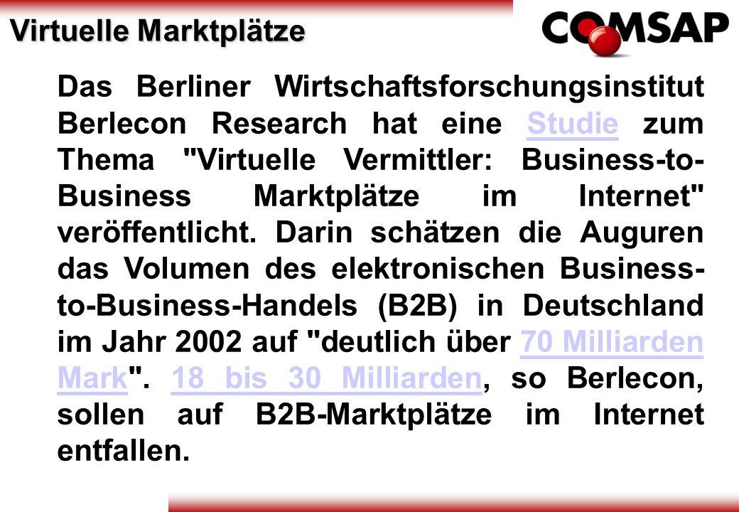 Das Berliner Wirtschaftsforschungsinstitut Berlecon Research hat eine Studie zum Thema