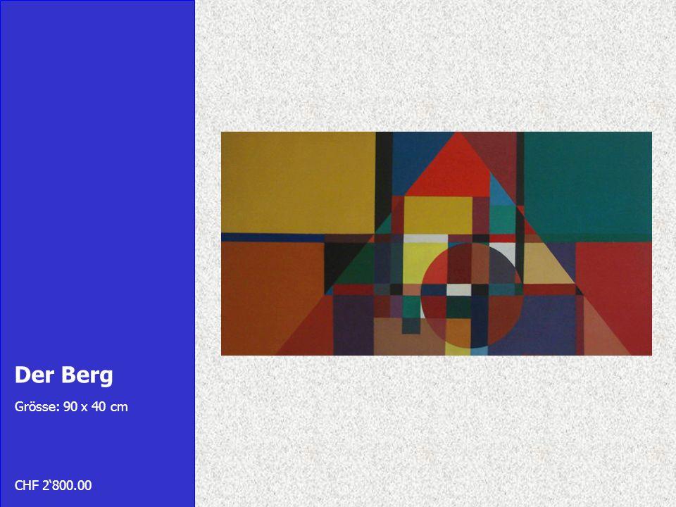 Labyrinth Grösse: 29 x 42 cm CHF 1800.00