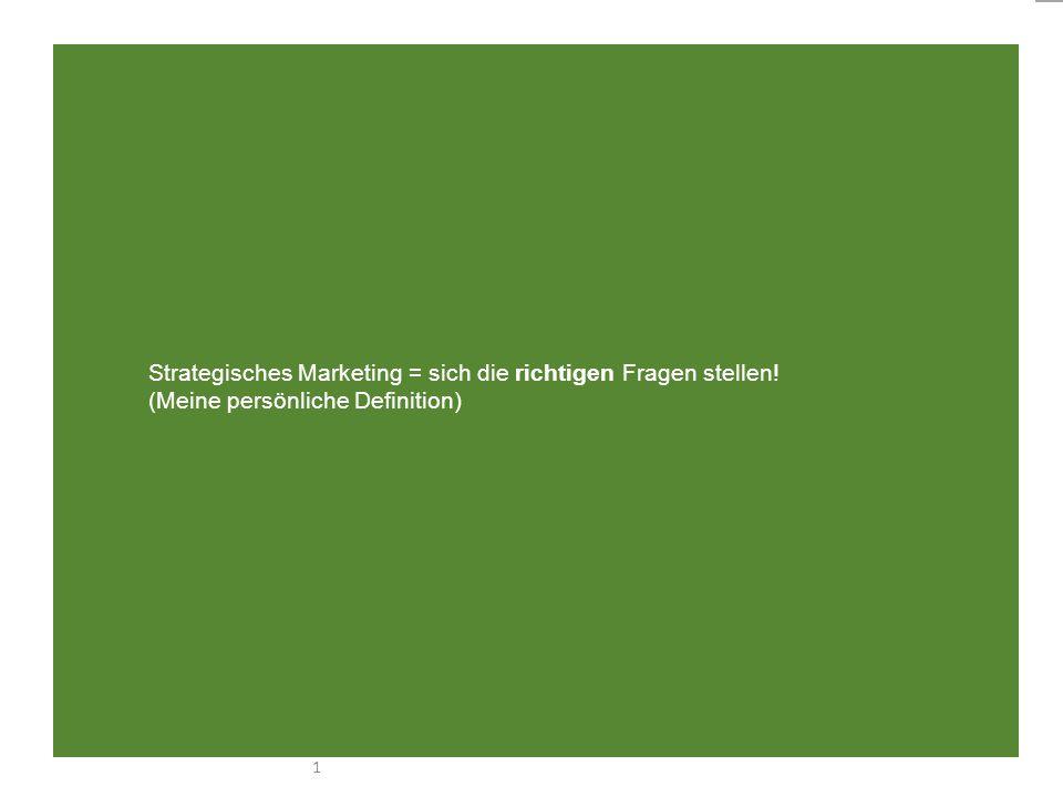 www.marktkraft.at, schreib@marktkraft.at 1 Strategisches Marketing = sich die richtigen Fragen stellen! (Meine persönliche Definition)