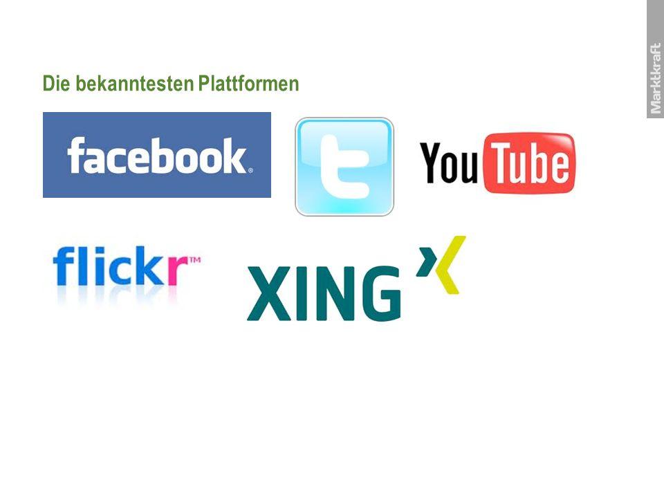 Die bekanntesten Plattformen