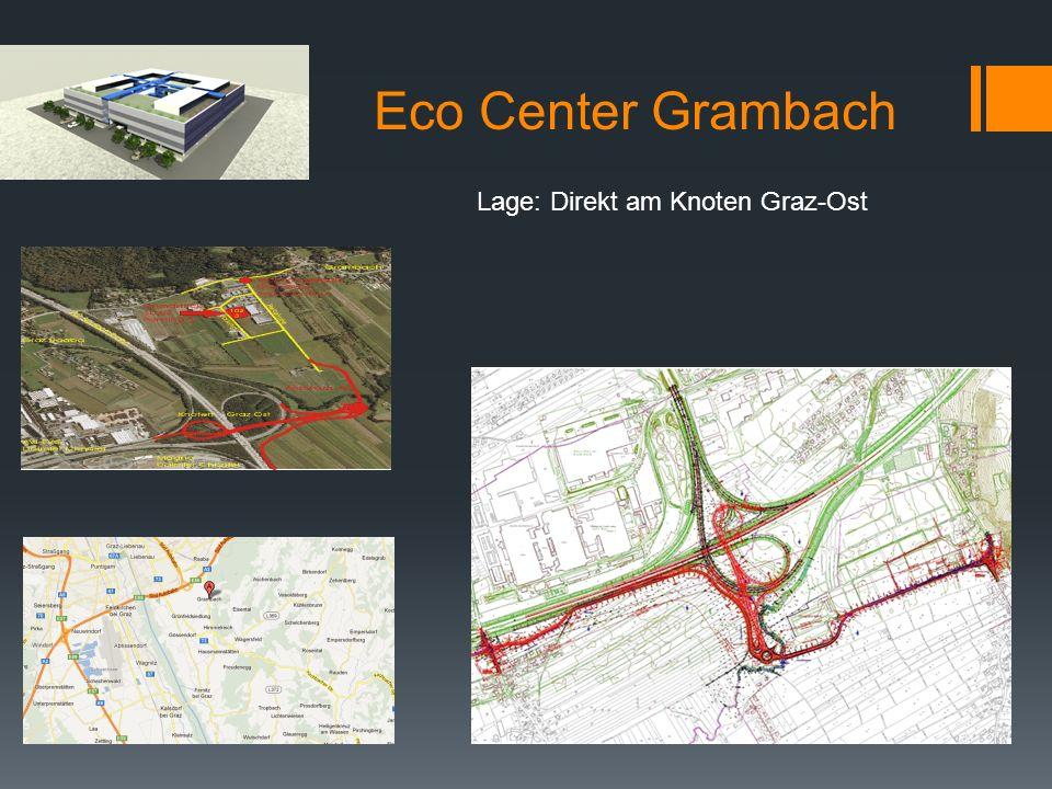Eco Center Grambach Lage: Direkt am Knoten Graz-Ost
