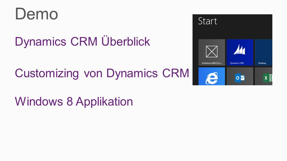 How to extend CRM