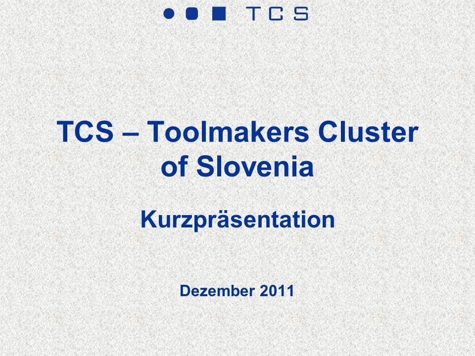 TCS – Allgemeine Daten Organisation: Netzwerk Organisation mit C- TCS Institute als Management-, Informations- und Kommunikationszentrum Standort: RITS – Entwicklungs-, Innovations- und Technologiezentrum, Celje, Slovenien Zahl der Mitglieder – Unternehmen: 17 Zahl der Mitglieder– Institutionen und Organisationen: 20