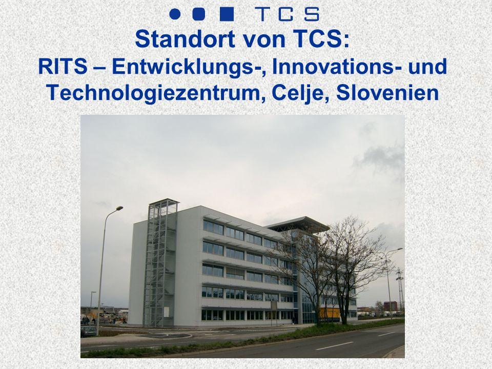 Standort von TCS: RITS – Entwicklungs-, Innovations- und Technologiezentrum, Celje, Slovenien