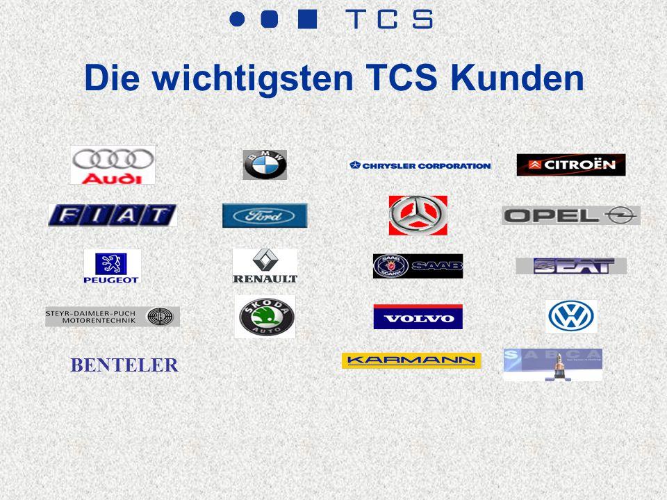 Die wichtigsten TCS Kunden BENTELER