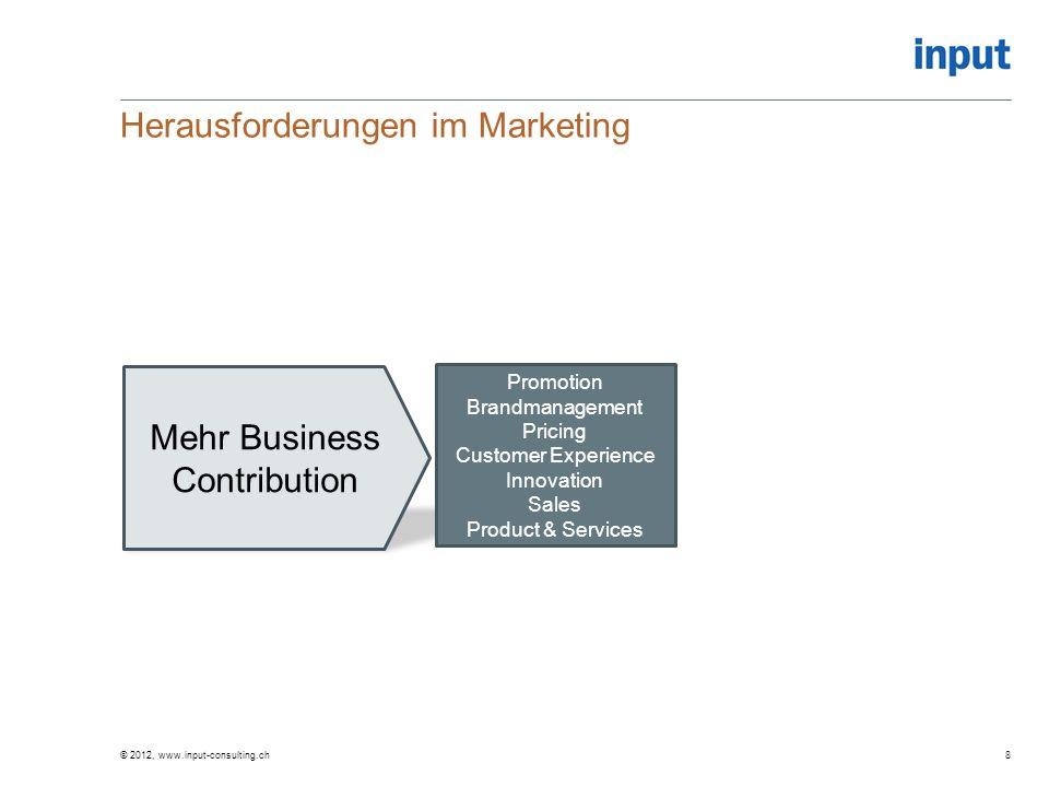 Marketingorganisation Quo Vadis Die Marketing-Organisation der Zukunft ist eher modular, flexibel und agiert in vielfältigen Wertschöpfungsnetzwerken Ob sie damit grösser wird.