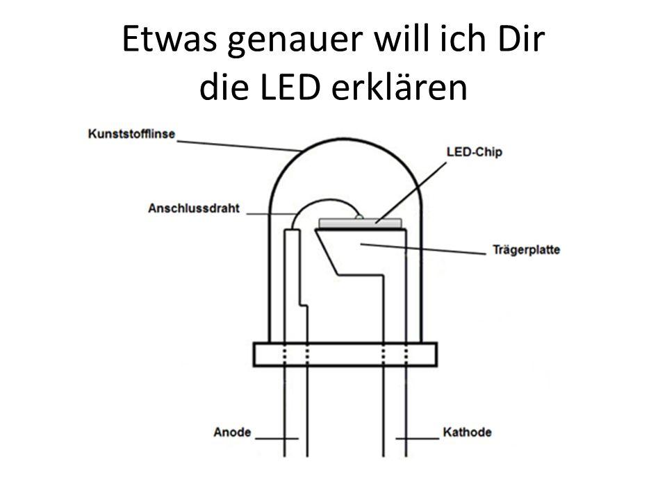 Etwas genauer will ich Dir die LED erklären