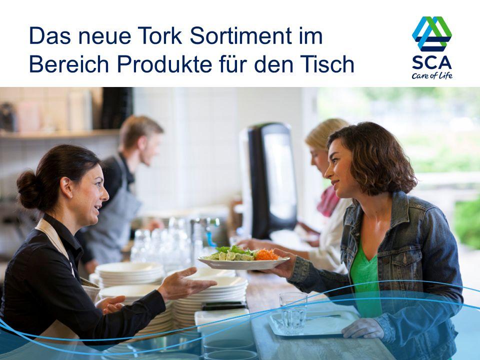 Das neue Tork Sortiment im Bereich Produkte für den Tisch 1