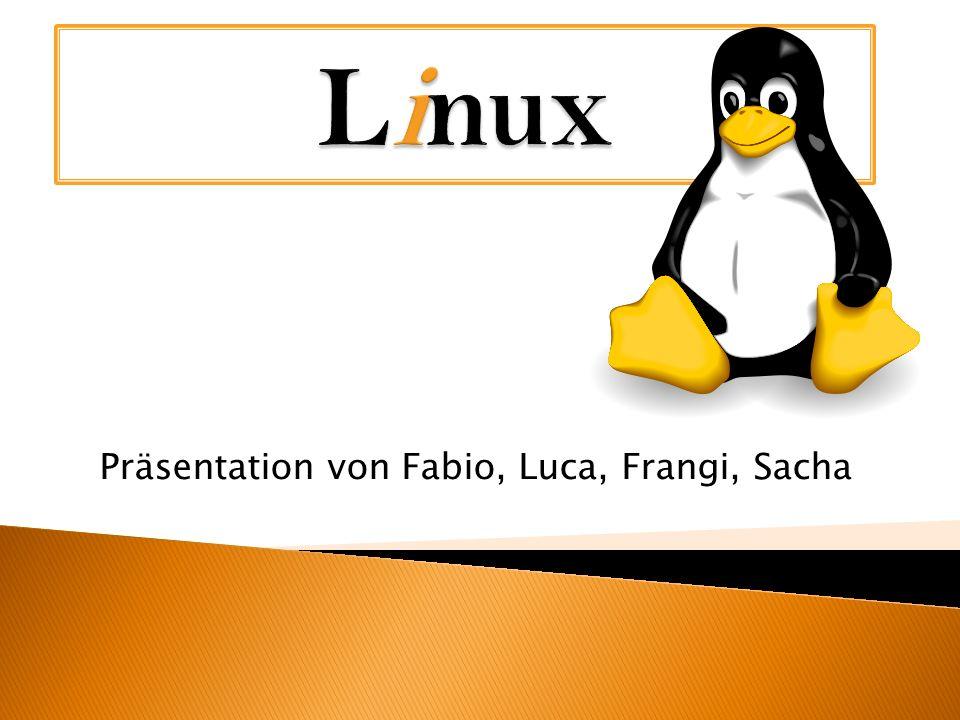 Was ist Linux.Linux & Windows & Mac Logos Tux Von wem wurde Linux entwickelt.