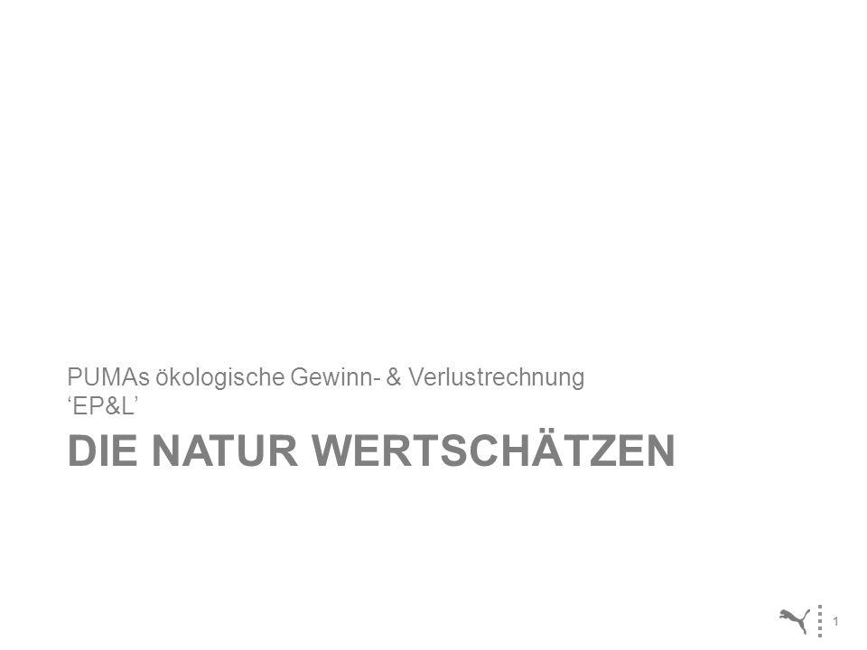 1 DIE NATUR WERTSCHÄTZEN PUMAs ökologische Gewinn- & Verlustrechnung EP&L