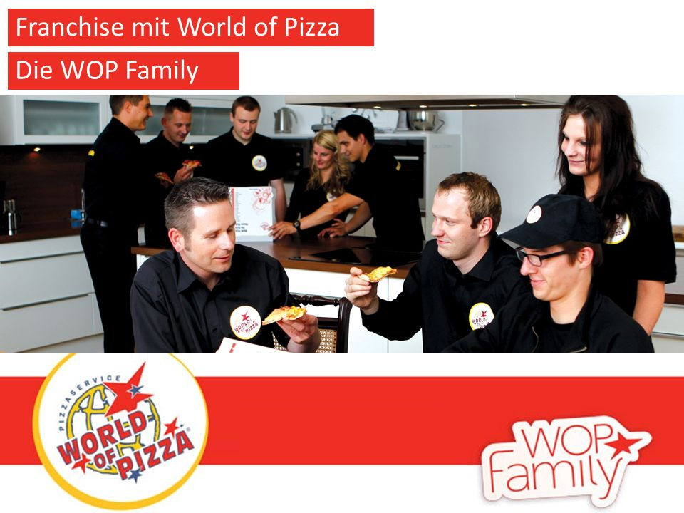 Franchise mit World of Pizza Die WOP Family