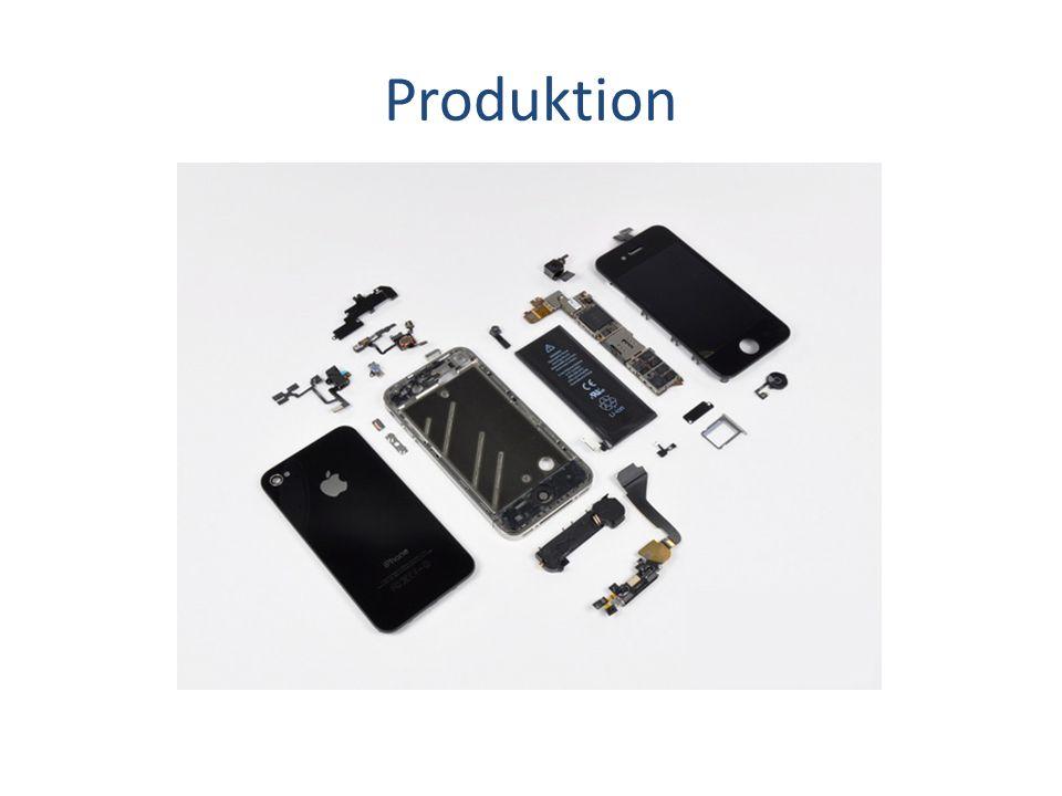 Foxxcon (RC): Geburtsstätte Samsung (ROK): Prozessor, Speicher Infineon (D): Telefon und Daten- Empfang LG (ROK): Display (Retina) Texas Instruments (USA): Touchscreen Kontroller Dialog Semiconductor (D): Stromversorgung Apple Inc.