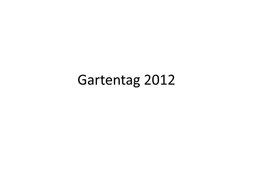 Gartentag 2012
