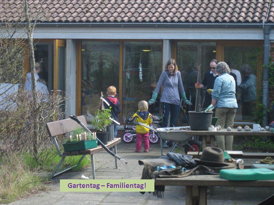 Gartentag – Familientag!