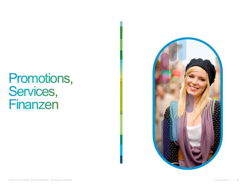 © 2012 Cisco und/oder Partnerunternehmen. Alle Rechte vorbehalten. Cisco Vertraulich 36