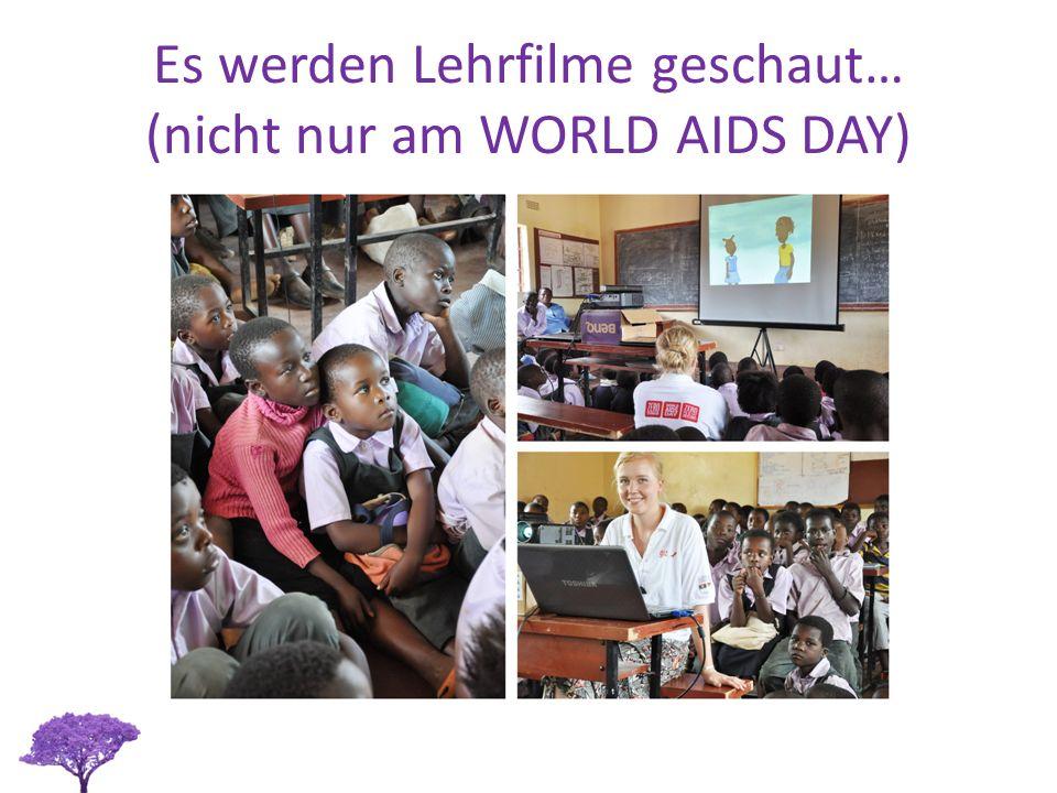 Es werden Lehrfilme geschaut… (nicht nur am WORLD AIDS DAY)