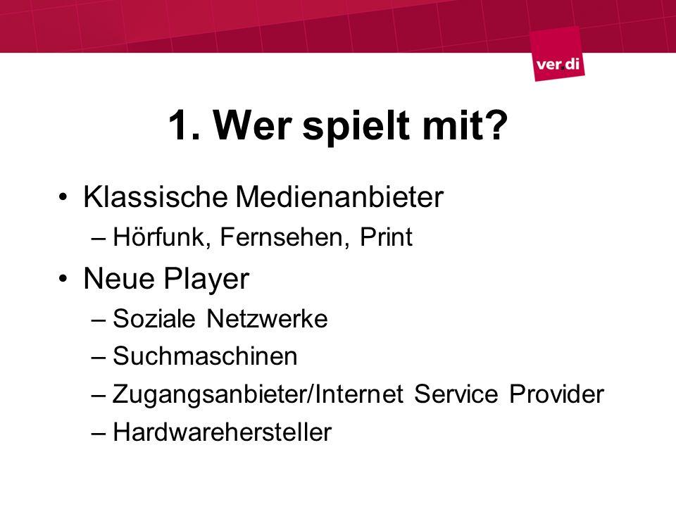 Soziale Netzwerke Nur technische Plattform User generated content Multimediale Inhalte Privates vs.