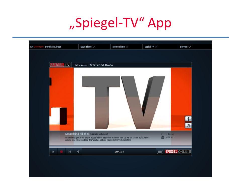 Spiegel-TV App