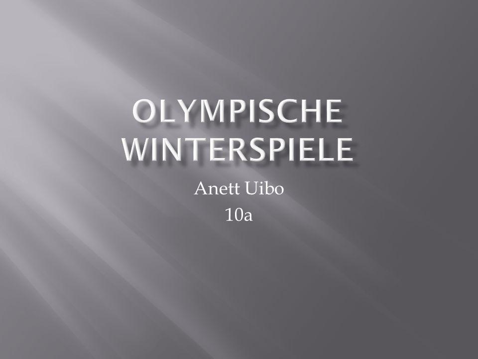 Die XXI.Olympischen Winterspiele werden vom 12. bis 28.