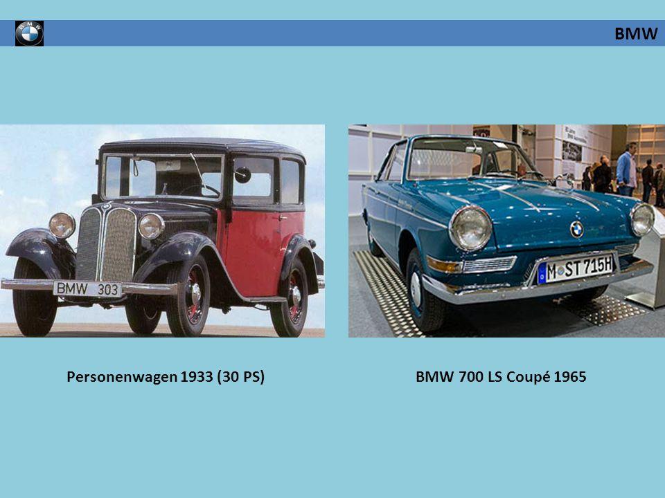 Personenwagen 1933 (30 PS)BMW 700 LS Coupé 1965