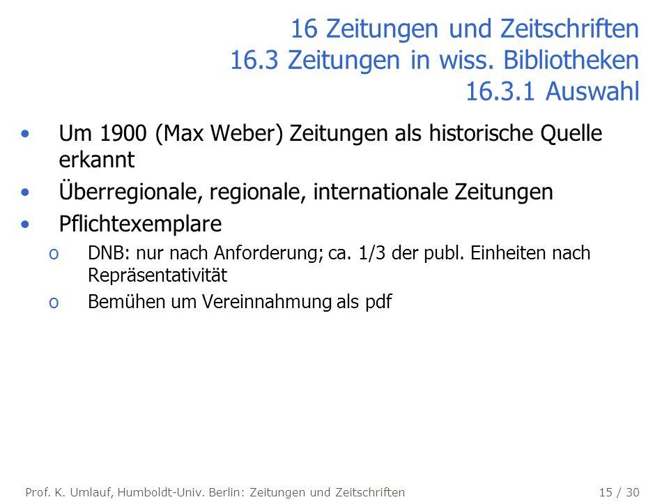 Prof.K. Umlauf, Humboldt-Univ.