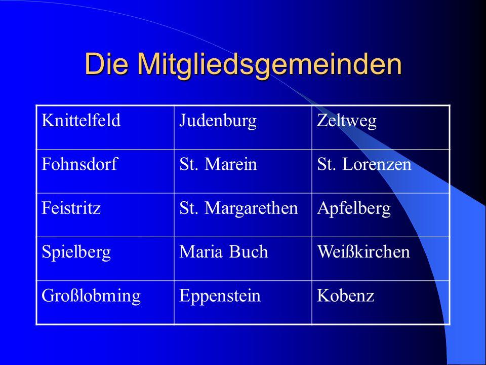 Die Mitgliedsgemeinden KnittelfeldJudenburgZeltweg FohnsdorfSt.