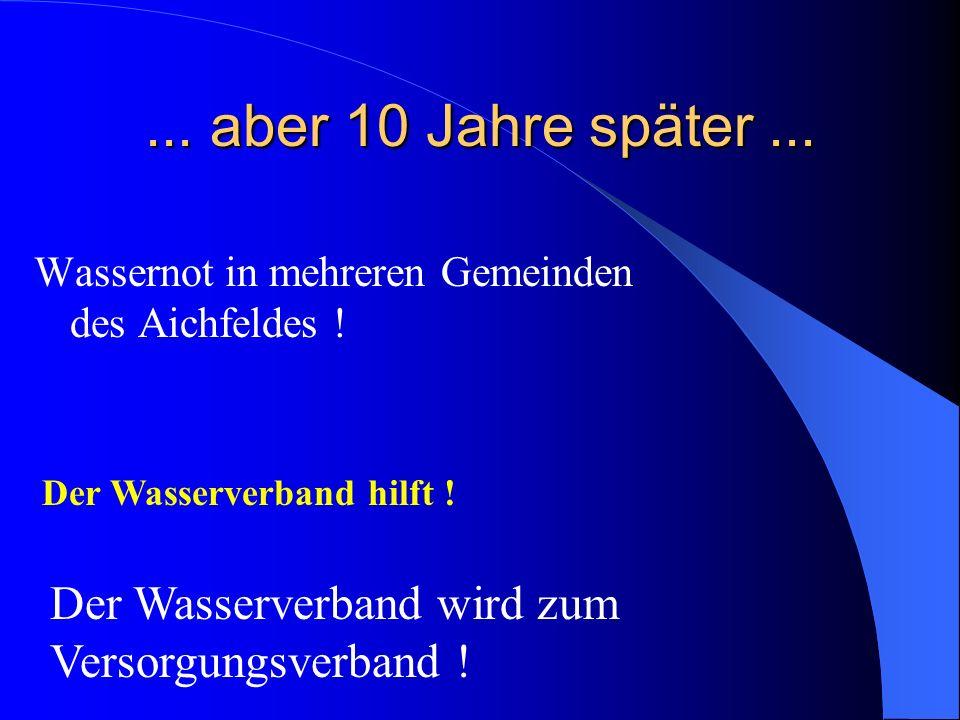 ... aber 10 Jahre später... Wassernot in mehreren Gemeinden des Aichfeldes .