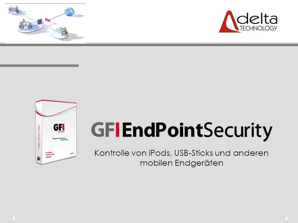 Überblick Herausforderung IT-Sicherheit Fallbeispiel GFI EndPointSecurity als Lösung Zusammenfassung Preisstruktur