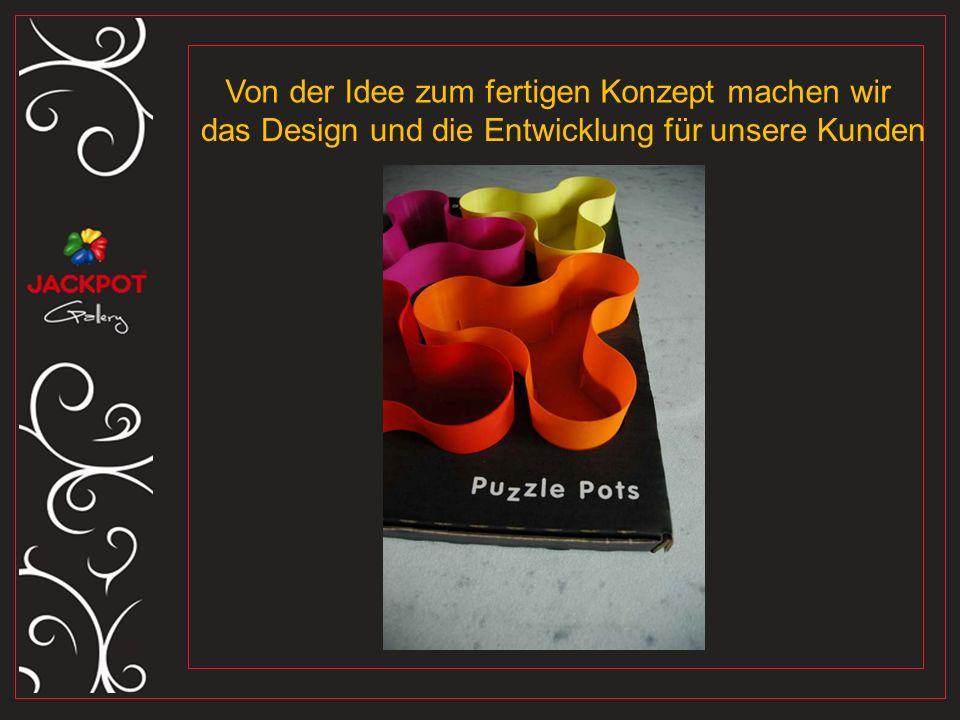 Von der Idee zum fertigen Konzept machen wir das Design und die Entwicklung für unsere Kunden