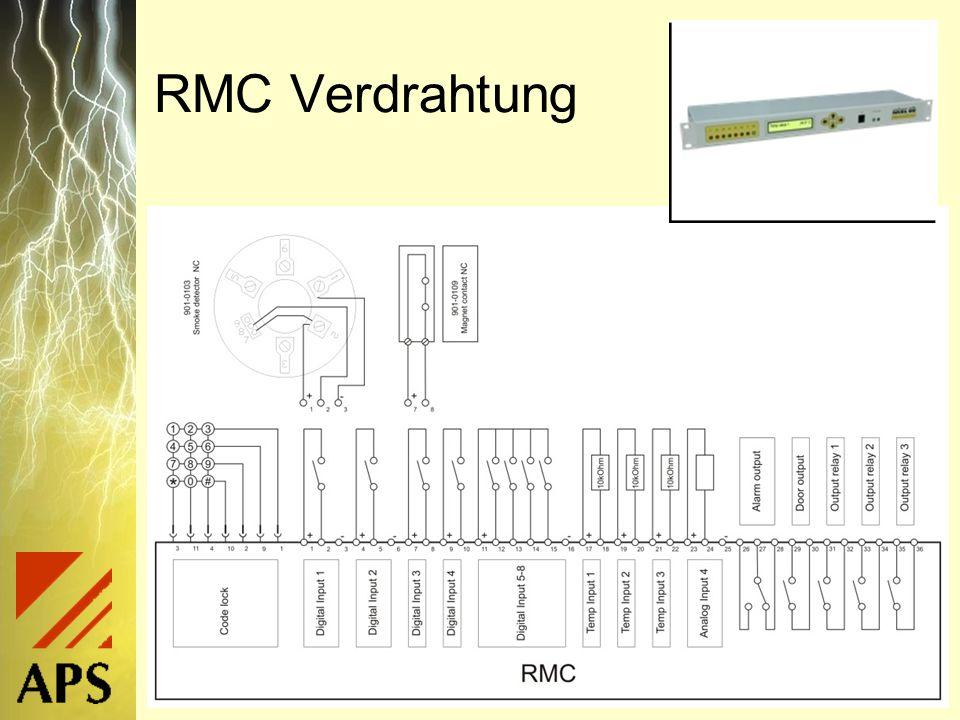 RMC Verdrahtung