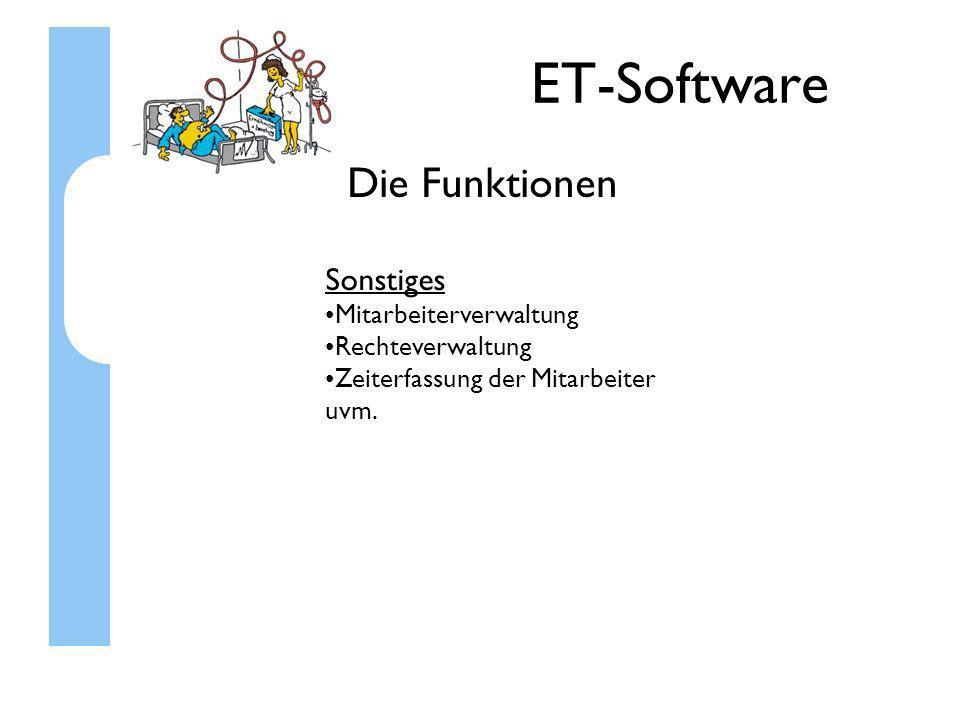 ET-Software Kontakt zu uns Wenn Sie mit uns Kontakt aufnehmen möchten: Das Entwicklungsteam: HST-TEC GmbH Göttinger Str.