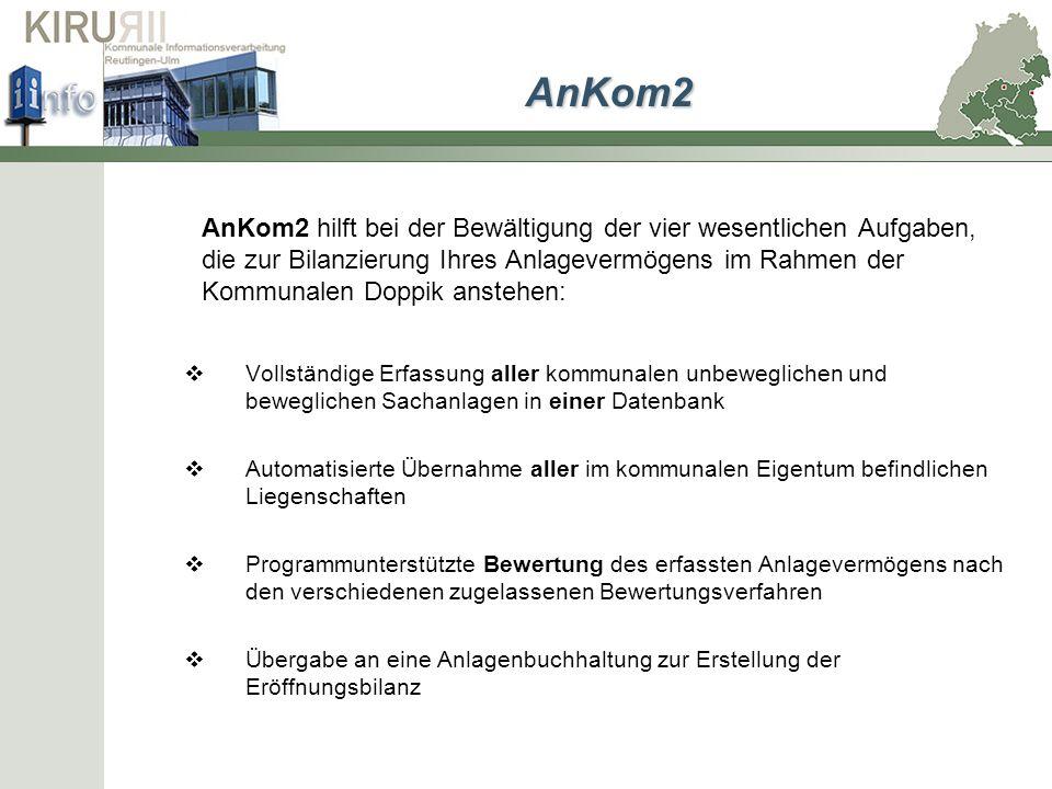 zurück AnKom2 Bewertungsverfahren Nicht zugelassene Verfahren können bei der Bearbeitung des jeweiligen Wirtschaftsgutes deaktiviert werden.