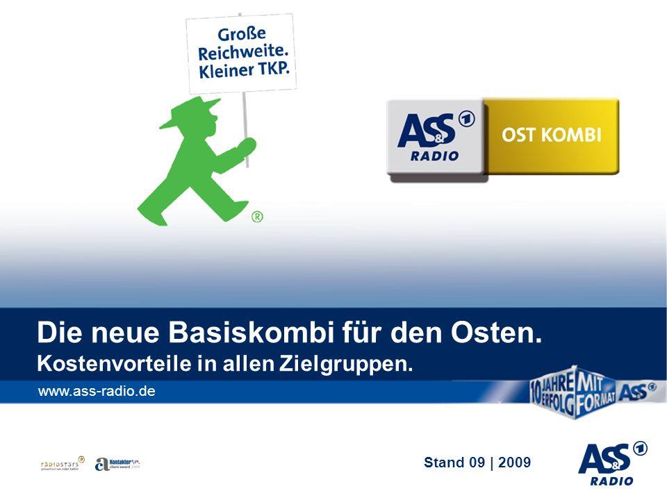 Stand 09   2009 Die neue Basiskombi für den Osten.