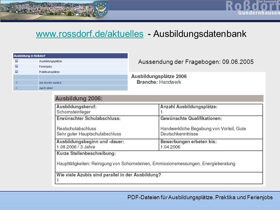 Statistik zur Umfrage Angeschriebene Betriebe: 109 Rückmeldungen : 34 (ca.
