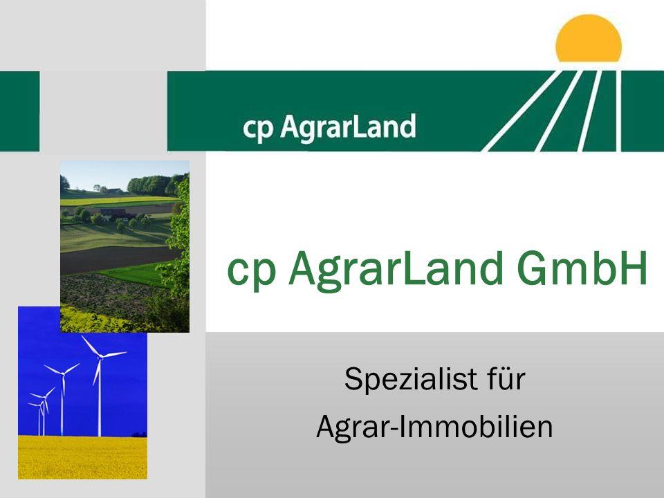 cp AgrarLand GmbH Spezialist für Agrar-Immobilien